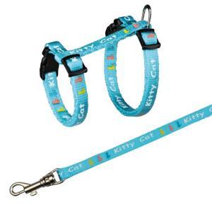 Шлейка для котят Trixie Kitten Harness, размер 21х33х0.8см., цвета в ассортименте