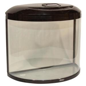 Аквариум для рыб Jebo 760R, 62 л, размер 60.5х30х54.5см., орех
