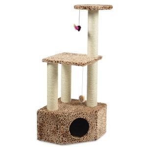 Игровой комплекс для кошек Triol, размер 44х44х108см.