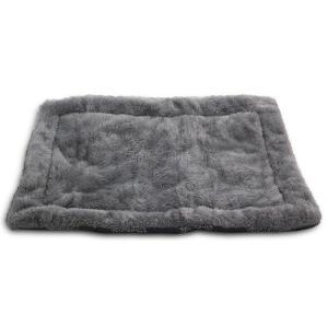 Лежак для собак Triol Сказочный лес M, размер 85х63см., серый