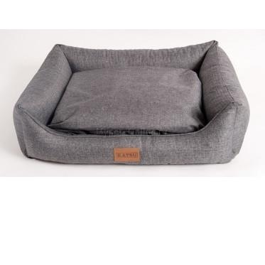 Лежанка для собак Katsu Sofa Opi L, размер 82х60х22см., серый - Интернет зоомагазин MyPet-Online.ru