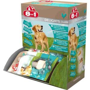 Лакомство для собак 8 in 1 Delights Dental XS, размер 7.5см.