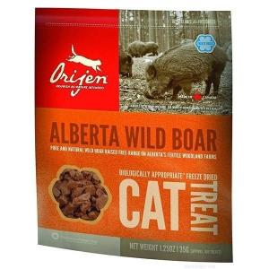 Лакомство для кошек Orijen Alberta Wild Boar Freeze Dried Treat Cat, 35 г, дикий кабан