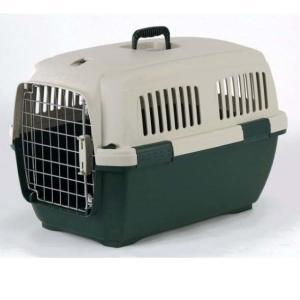 Переноска для собак и кошек Marchioro Clipper Cayman, размер 3, размер 64х43х43см., бежево-зеленый