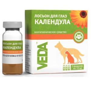Лосьон для собак и кошек Веда
