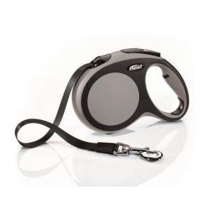 Поводок-рулетка для собак Flexi New Comfort L, серый