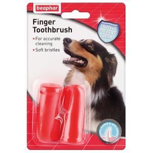 Зубная щетка для собак Beaphar Finger Toothbrush
