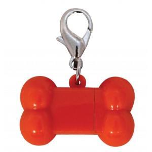 Адресник для собак Triol Косточка USB, размер 3см.