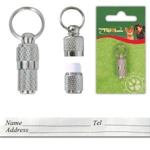 Адресник для собак Triol SH607 S, размер 3см.