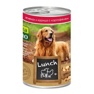 Корм для собак Vita Pro LUNCH, 400 г, курица,ягненок,картофель