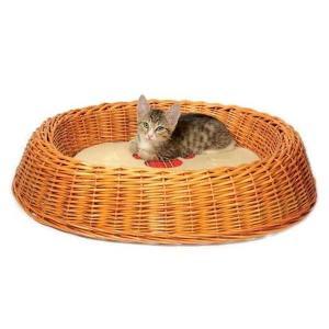 Лежанка для кошек и собак Triol, размер 60х50х12см.
