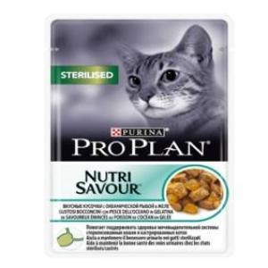 Корм для кошек Pro Plan Sterilised, 85 г, океаническая рыба