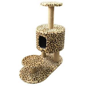 Игровой комплекс для кошек Гамма, размер 70х35х85см.