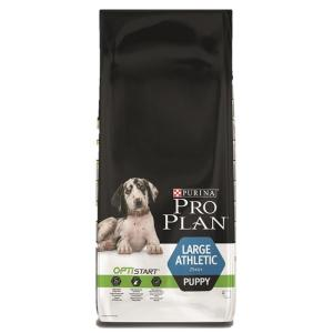 Корм для собак Pro Plan Puppy Large Athletic, 12 кг, курица