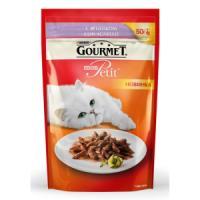 Фотография товара Корм для кошек Gourmet Mon Petit, 50 г, ягненок