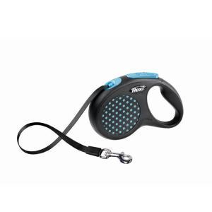 Поводок-рулетка для собак Flexi Design Classic S, синий