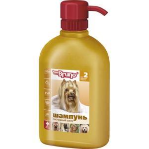 Шампунь-кондиционер для длинношерстных собак Mr. Bruno Послушный шелк, 350 мл