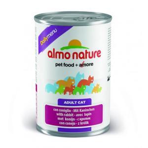 Консервы для кошек Almo Nature Dailymenu BIO, 400 г, меню с кроликом