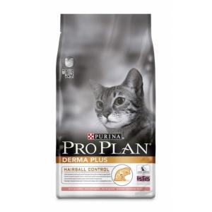 Корм для кошек Pro Plan Derma Plus, 10 кг, Лосось