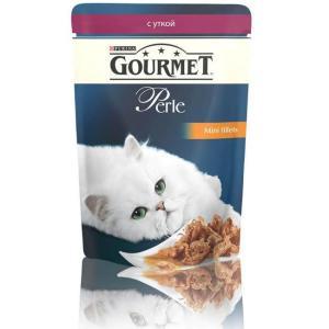 Корм для кошек Gourmet Perle, 85 г, утка