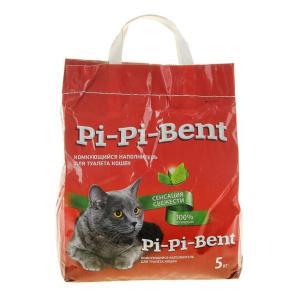 Наполнитель для кошачьего туалета Pi-Pi Bent Сенсация свежести, 5 кг