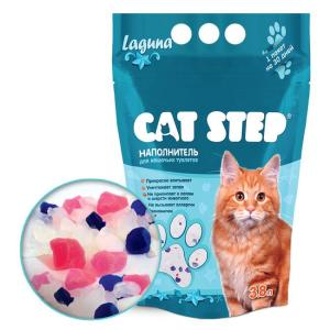 Наполнитель для кошачьего туалета Cat Step Laguna, 1.81 кг, 3.8 л