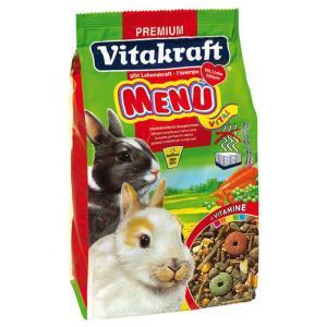 Корм для кроликов Vitakraft Menu Vital, 3 кг
