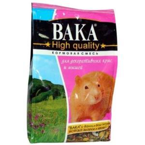 Корм для крыс и мышей Вака High Quality, 500 г