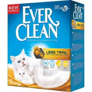 Наполнитель для кошачьего туалета Ever Clean Less Trail, 10 кг