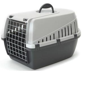 Переноска для собак кошек Savic Trotter 2, размер 56х37.5х33см., серый