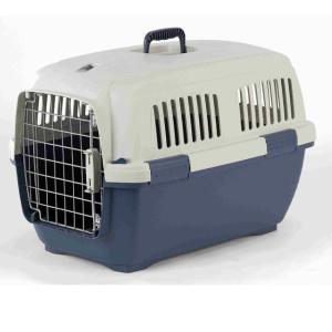 Переноска для собак и кошек Marchioro Clipper Cayman, размер 2, размер 57х37х36см., бежевый/синий