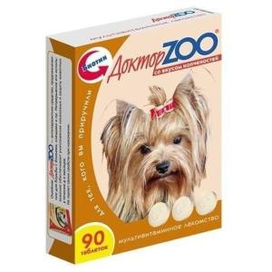 Витамины для собак Доктор Zoo