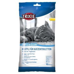 Пакеты уборочные для кошачьих туалетов Trixie Simple'n'Clean L, размер 46x59см.