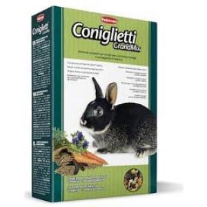Корм для кроликов Padovan GrandMix Coniglietti, 850 г, злаки, фрукты, овощи