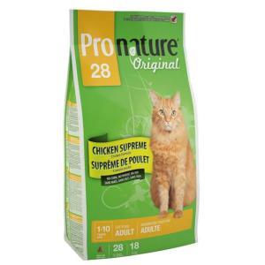 Корм для кошек Pronature Original 28, 20 кг, цыпленок