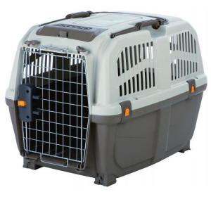 Переноска для собак и кошек MPS Skudo IATA, размер 4, размер 68х48х51см., коричнево-песчаный