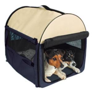 Сумка-переноска для собак и кошек Trixie Kennel M, размер 50х50х60см.