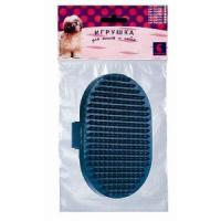 Фотография товара Щетка для собак и кошек Дарэлл 0205, 100 г, размер 9.5х5х0.2см.