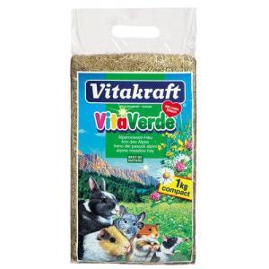 Сено для грызунов Vitakraft Vita Verde, 1 кг