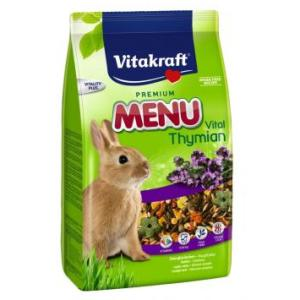 Корм для кроликов Vitakraft Menu Thymian, 1 кг