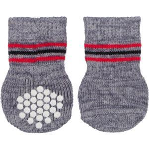 Носки для собак Trixie Dog Socks XL, серый