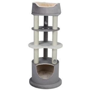 Домик-когтеточка для кошек Trixie Lavinia, размер 138см., каппучино / кремовый