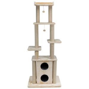 Домик-когтеточка для кошек Trixie Lydia, размер 193см., бежевый