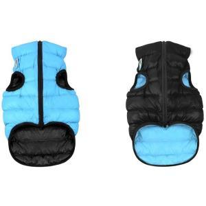 Куртка для собак AiryVest 1639 L, черно-голубой