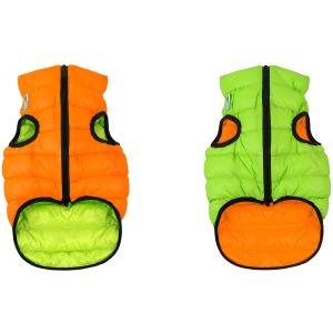 Куртка для собак AiryVest 1594 XS, оранжево-салатовый