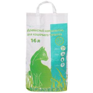 Наполнитель для туалета Homecat 16, 5.3 кг, 16 л