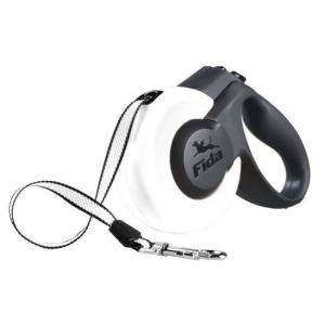 Поводок-рулетка для собак Fida Mars, белый
