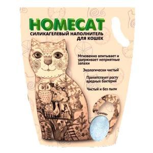 Наполнитель для кошачьих туалетов Homecat Стандарт, 3.5 кг