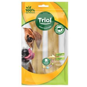 Лакомства для собак Triol, 85 г, сыромятная кожа, 2 шт.