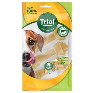 Лакомства для собак Triol, 35 г, сыромятная кожа, 3 шт.